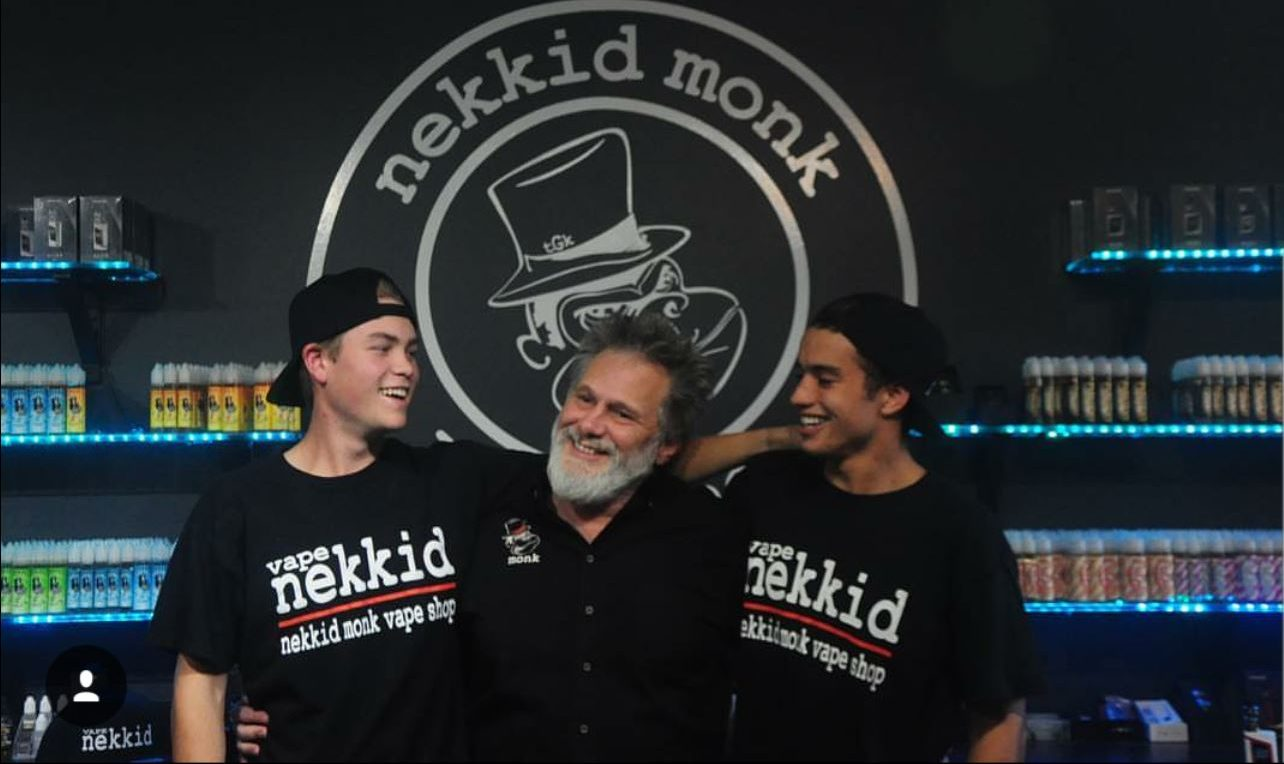The Nekkid Monk Vape Shop